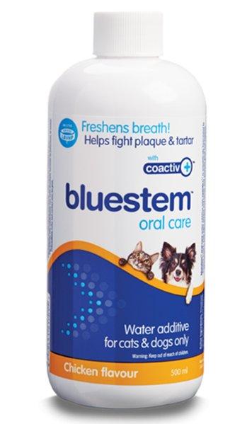 Bluestem Bluestem Oral Care K9/Cat Chicken 500mL