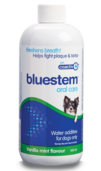 Bluestem Bluestem Oral Care K9 Vanilla 500mL