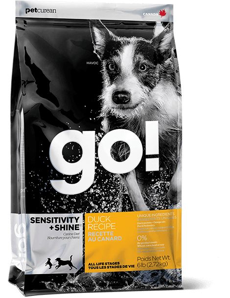 Petcurean Go Dog Sensitivity & Shine Duck