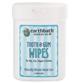 Earthbath Tooth & Gum Wipes Earthbath