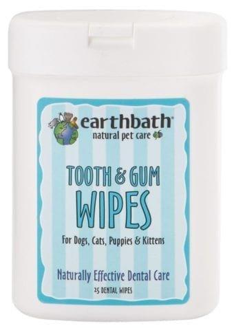 Earthbath Tooth & Gum Wipes Earthbath