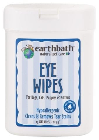 Earthbath Eye Wipes Earthbath 25 ct