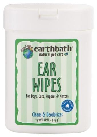 Earthbath Ear Wipes Earthbath 25 ct