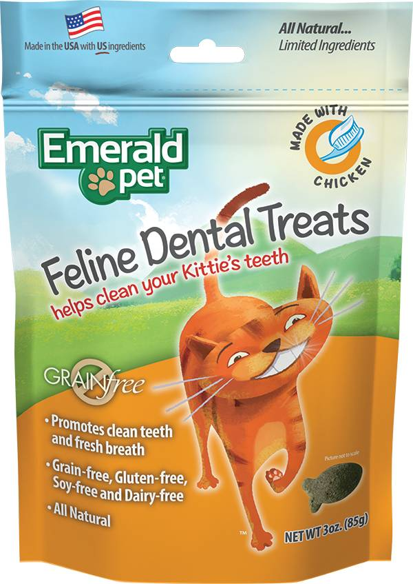 Emerald Pet Emerald Cat Dental Treat