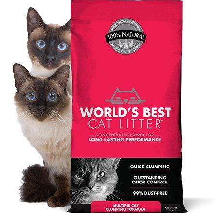 World's Best World's Best Multi Cat Litter Red