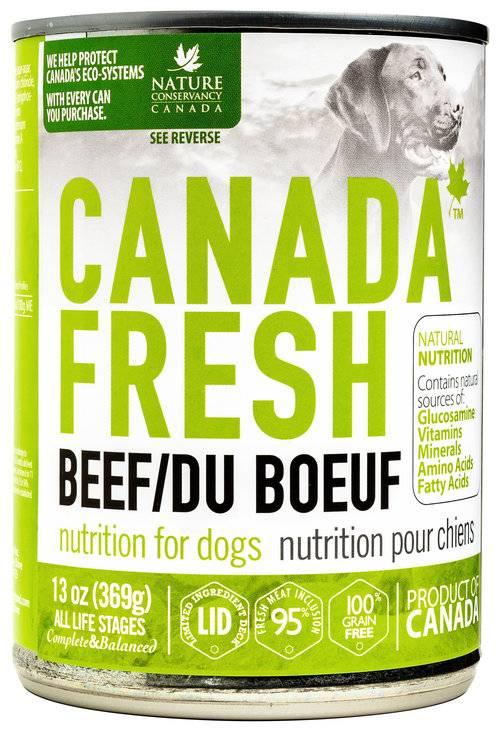 Petkind Canada Fresh Dog Can Beef 369g