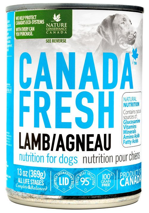 Petkind Canada Fresh Dog Can Lamb 369g