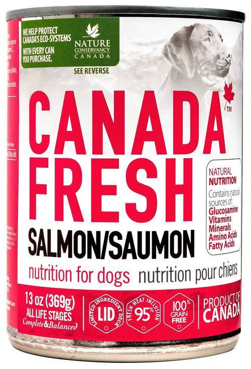 Petkind Canada Fresh Dog Can Salmon 369g