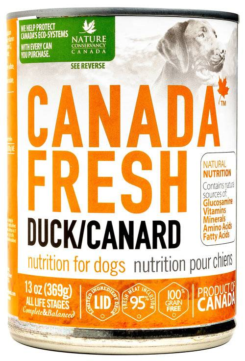 Petkind Canada Fresh Dog Can Duck 369g