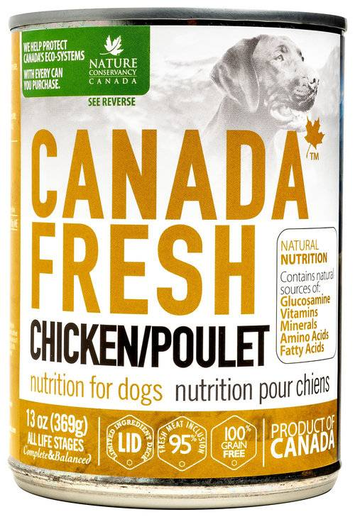 Petkind Canada Fresh Dog Can Chicken 369g