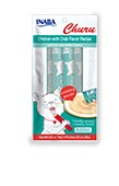 Inaba Inaba Churu Puree Chicken w/ Crab 4 pack