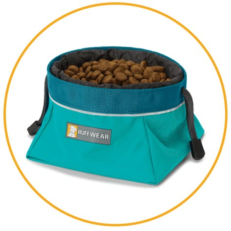 Ruffwear Ruffwear Quencher Cinch Top Dish Green