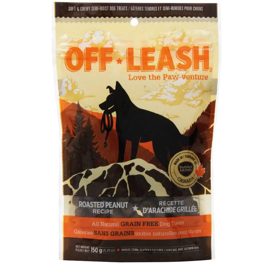 Off Leash Off Leash Roasted Peanut Treat
