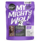 Waggers My Mighty Wolf Turkey Dog Treat