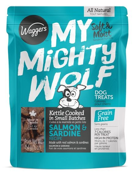 Waggers My Mighty Wolf Salmon Dog Treat