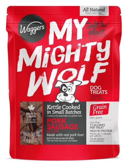 Waggers My Mighty Wolf Pork Dog Treat