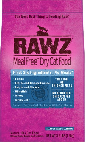 Rawz Rawz Cat Grain Free Salmon