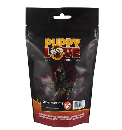 Puppy Love Puppy Love Chicken Heart 120g