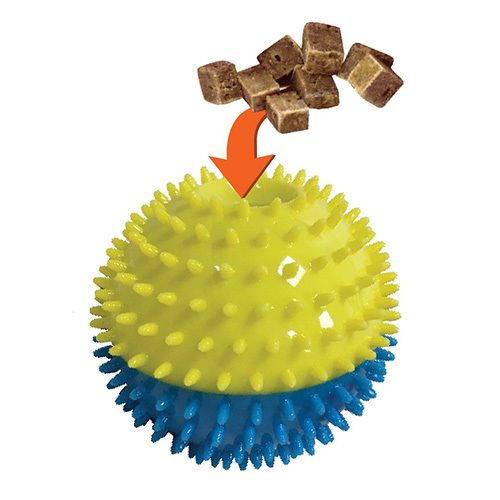 Foufou Foufou Spiky Treat Ball