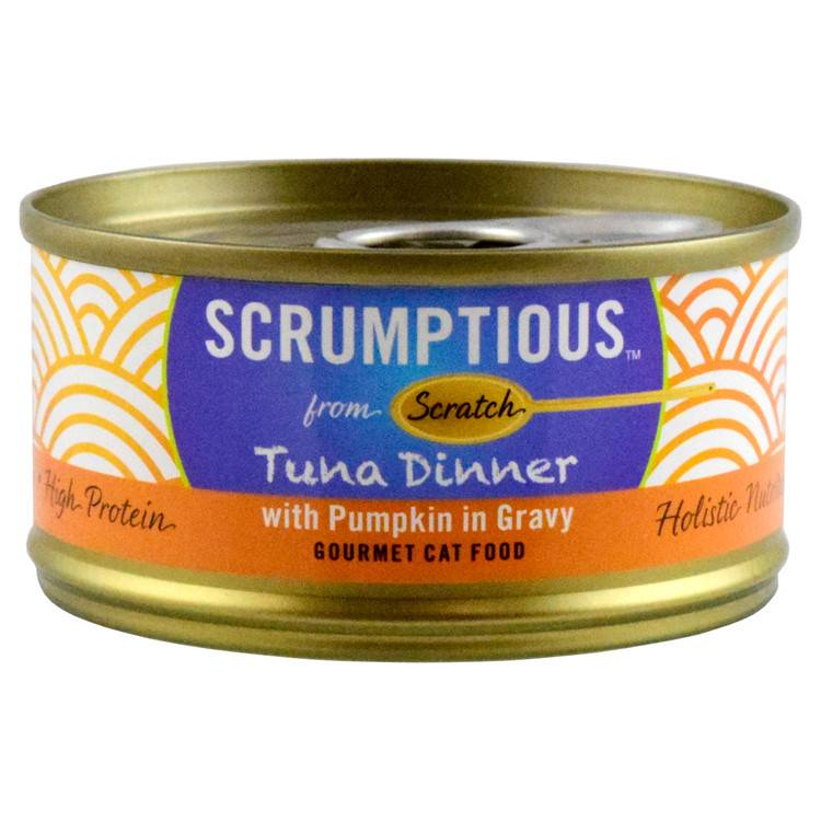 Scrumptious Scrumptious Tuna Red Meat Pumpkin 2.8oz