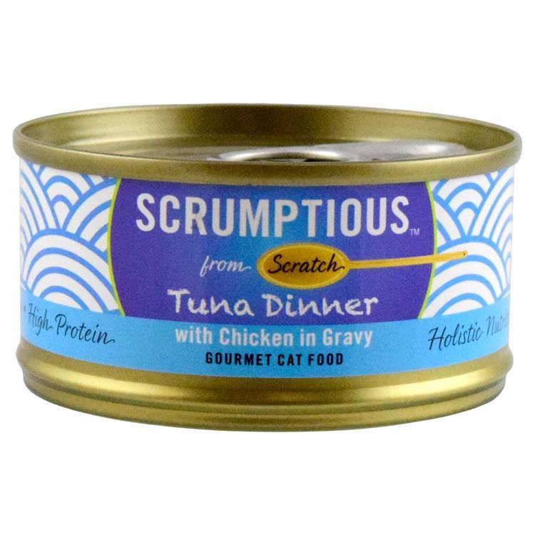 Scrumptious Scrumptious Tuna Red Meat Chicken 2.8oz