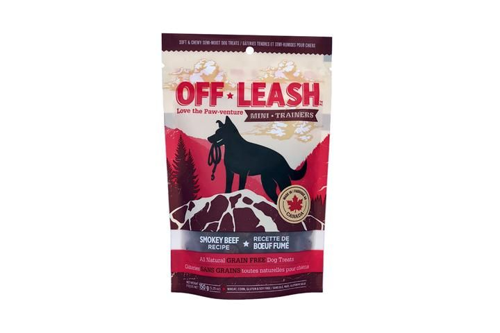Off Leash Off Leash Smoky Beef Treat