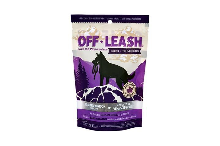 Off Leash Off Leash Roasted Venison Treat