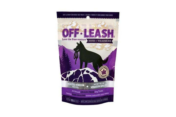 Off Leash Off Leash Roasted Venison Treat