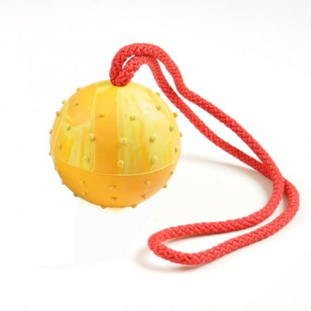 Redline K9 Ball on Rope