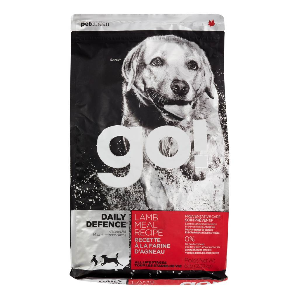 Petcurean Go Dog Daily Defence Lamb