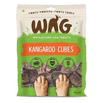 Wag Kangaroo Cubes 200g