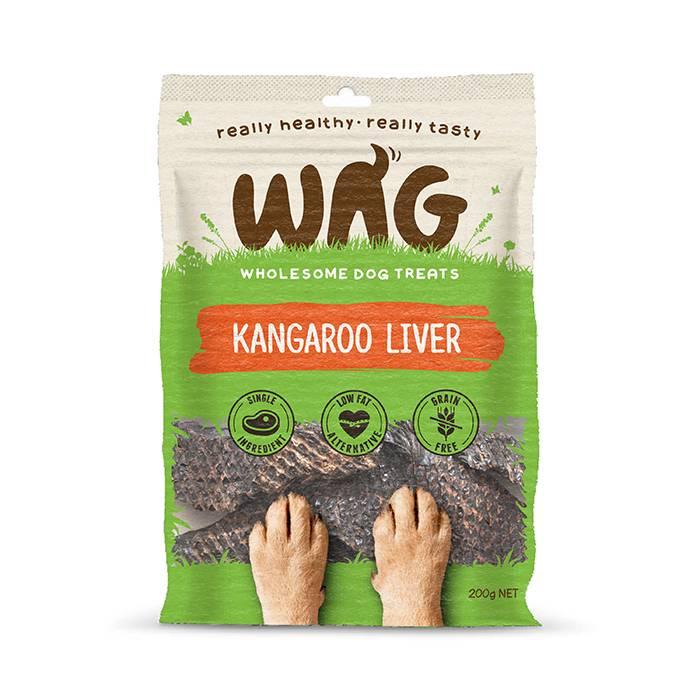 Wag Kangaroo Liver 50g