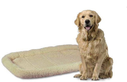 Smart Pet Love Smart Pet Love Fleece Crate Bed