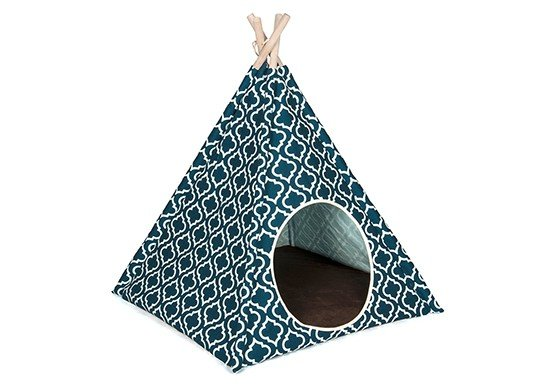 PLAY PLAY Pet Tee Pee Moroccan Navy