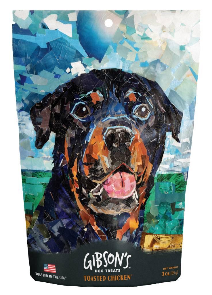 Wild Meadows Gibson's Toasted Dog Treats 3oz