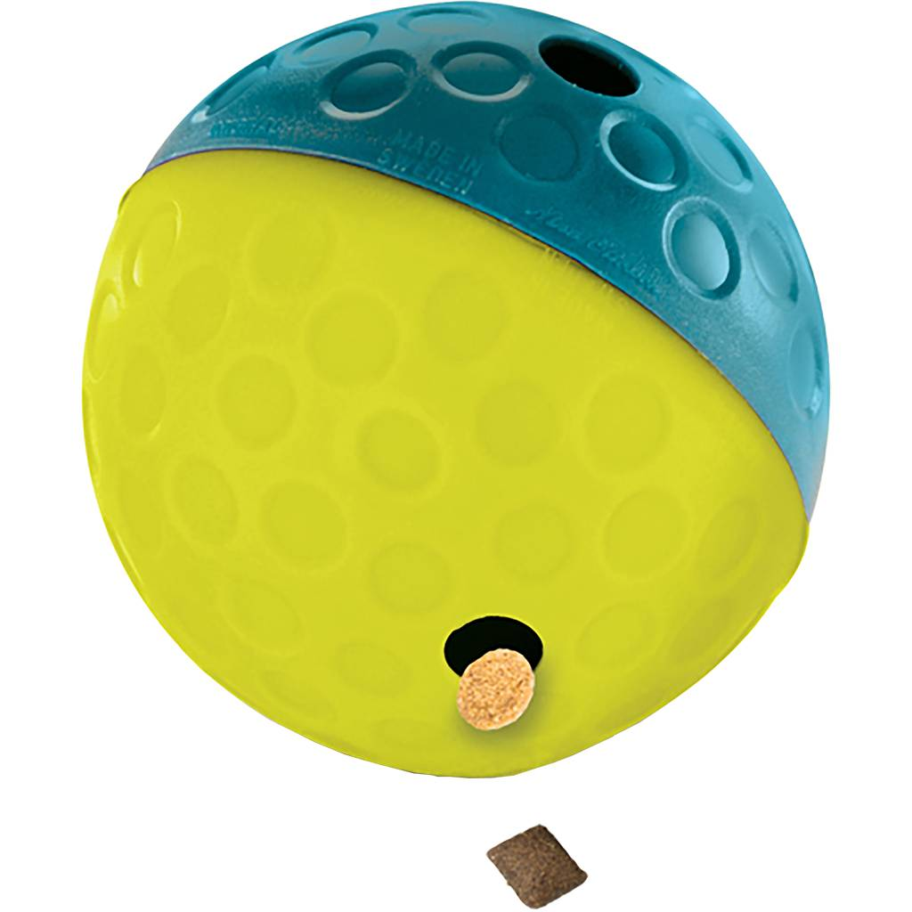 Outward Hound Outward Hound Treat Tumble Ball Blue Small