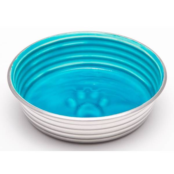 Loving Pets Products Dish Le Bol Seine Blue Medium