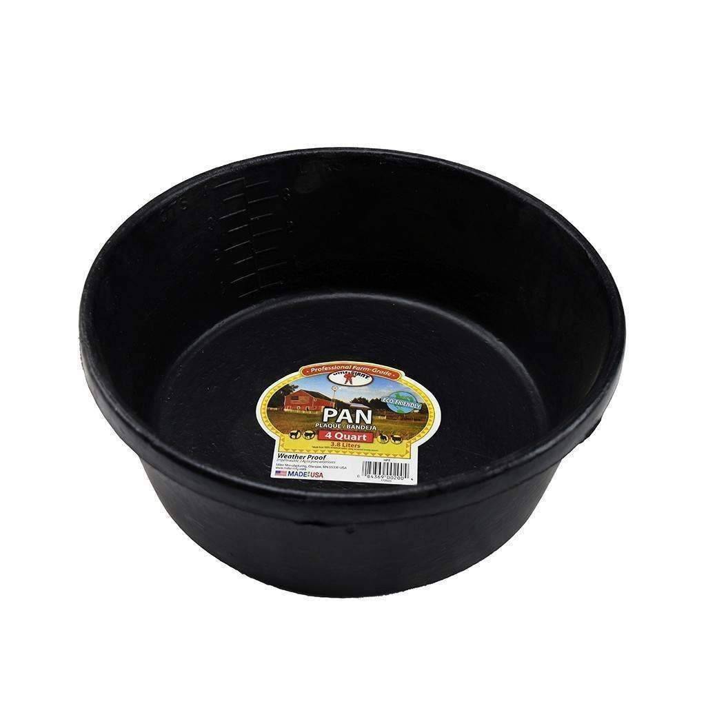 Little Giant Rubber Feeder Dish 4qt