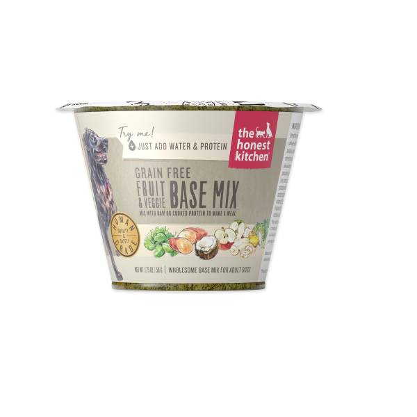 Honest Kitchen Honest Kitchen Grain Free Fruit & Veg Single Cup 1.75oz