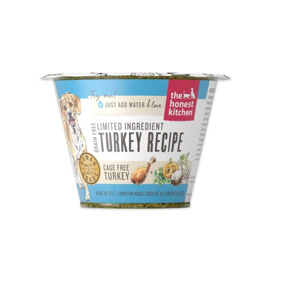 Honest Kitchen Honest Kitchen Grain Free LID Turkey Single Cup 2oz