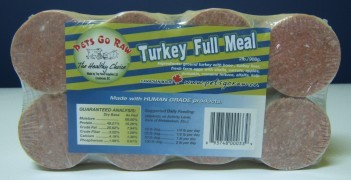 Pets Go Raw Pets Go Raw Turkey Meal