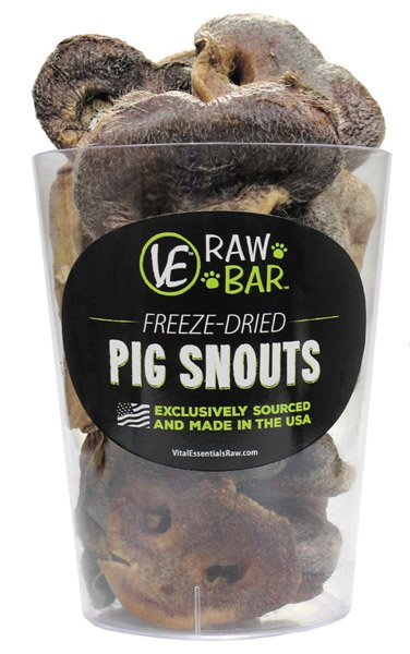 Vital Essentials Vital Essentials Raw Bar Pig Snouts