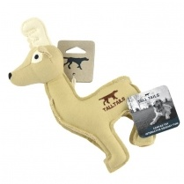 """Tall Tails Tall Tails Canvas 9"""" Deer w/ Squeaker"""
