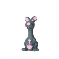 "Budz Budz Latex 6"" Mouse w/ Squeaker"