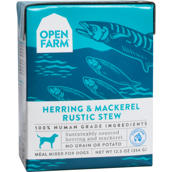 Open Farm Open Farm Dog Herring & Mackerel Rustic Stew 12.5oz