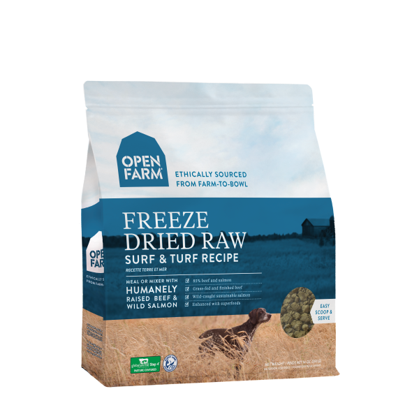 Open Farm Open Farm Freeze Dried Raw Surf & Turf 13.5oz