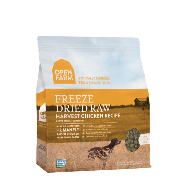 Open Farm Open Farm Freeze Dried Raw Harvest Chicken 13.5oz