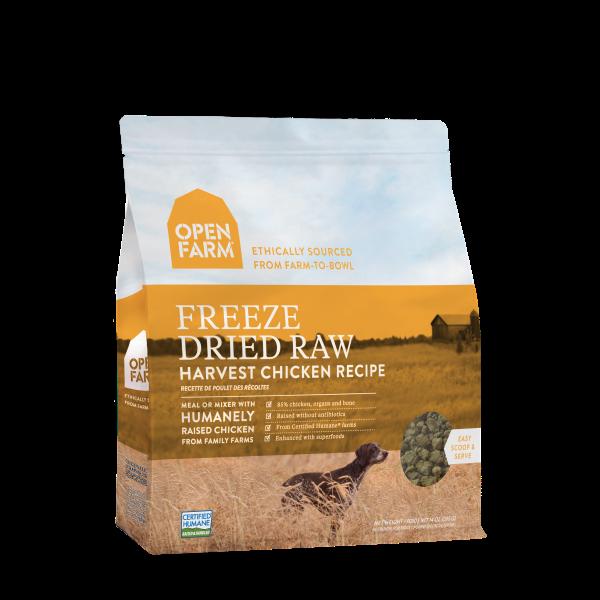 Open Farm Open Farm Freeze Dried Raw Harvest Chicken 13.5oz