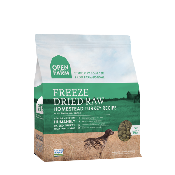 Open Farm Open Farm Freeze Dried Raw Homestead Turkey 13.5oz