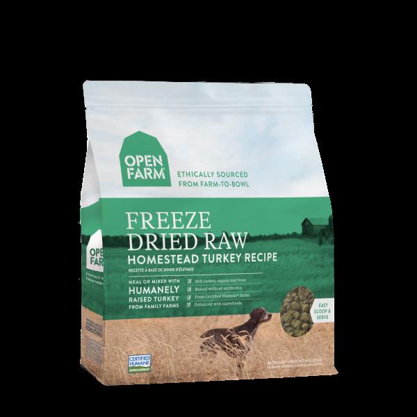Open Farm Open Farm Freeze Dried Raw Homestead Turkey 13.5oz